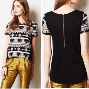 Sunday In Brooklyn L blouse tweed Ellery tribal
